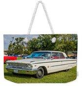1963 Ford Galaxie 500xl Hardtop Weekender Tote Bag