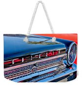 1963 Ford Galaxie 500xl Taillight Emblem Weekender Tote Bag