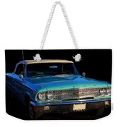 1963 Ford Galaxy Weekender Tote Bag