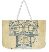 1963 Jukebox Patent Artwork - Vintage Weekender Tote Bag