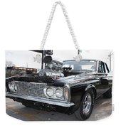 1963 Plymouth Modified Sedan Weekender Tote Bag