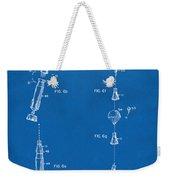 1963 Space Capsule Patent Blueprint Weekender Tote Bag