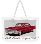 1964 Cadillac Coupe De Ville Weekender Tote Bag