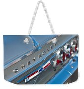 1964 Chevrolet Impala Taillights And Emblems Weekender Tote Bag
