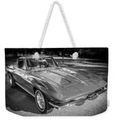 1964 Chevy Corvette Coupe Bw Weekender Tote Bag