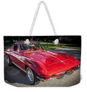 1964 Chevy Corvette Coupe  Weekender Tote Bag
