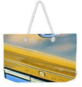 1964 Chrysler 300k Convertible Emblem -3529c Weekender Tote Bag