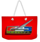 1964 Ford Falcon Emblem Weekender Tote Bag