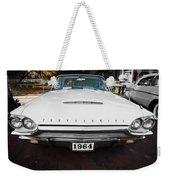 1964 Ford Thunderbird Painted Weekender Tote Bag