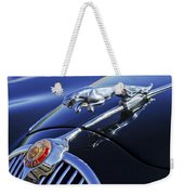 1964 Jaguar Mk2 Saloon Weekender Tote Bag