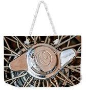 1964 Shelby 289 Cobra Wheel Emblem -0666c Weekender Tote Bag
