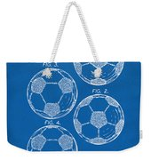 1964 Soccerball Patent Artwork - Blueprint Weekender Tote Bag