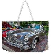 1964 Studebaker Golden Hawk Gt Painted Weekender Tote Bag