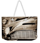 1965 Aston Martin Db6 Short Chassis Volante Grille Weekender Tote Bag