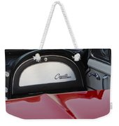 1965 Chevrolet Corvette Dashboard Emblem Weekender Tote Bag