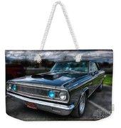 1965 Dodge Coronet Weekender Tote Bag