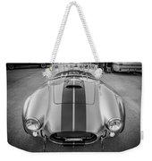 1965 Ford Ac Cobra Replica Painted Bw Weekender Tote Bag