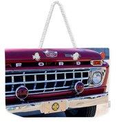 1965 Ford American Lafrance Fire Truck Weekender Tote Bag