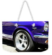 1965 Ford Mustang Gt350 Muscle Car Weekender Tote Bag