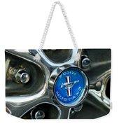1965 Ford Mustang Wheel Rim Weekender Tote Bag