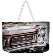 1965 Pontiac Gto Grille Emblem -0442ac Weekender Tote Bag