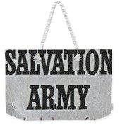 1965 Salvation Army Stamp Weekender Tote Bag