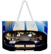 1965 Shelby Cobra Grille Weekender Tote Bag by Jill Reger