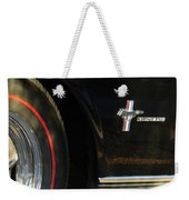 1965 Shelby Prototype Ford Mustang Emblem -0248c Weekender Tote Bag