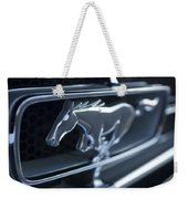 1965 Shelby Prototype Ford Mustang Grille Emblem 2 Weekender Tote Bag