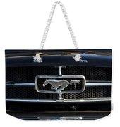 1965 Shelby Prototype Ford Mustang Hood Ornament Weekender Tote Bag
