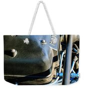 1965 Shelby Prototype Ford Mustang Paxton Engine Weekender Tote Bag