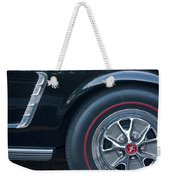 1965 Shelby Prototype Ford Mustang Wheel 3 Weekender Tote Bag