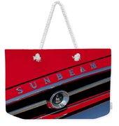 1965 Sunbeam Tiger Grille Emblem Weekender Tote Bag