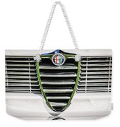 1966 Alfa Romeo Gtc Grille Emblem -1438c Weekender Tote Bag