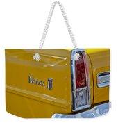 1966 Chevrolet Nova Taillight Emblem Weekender Tote Bag