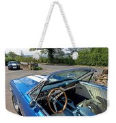 1966 Convertible Mustang On Tour In The Cotswolds Weekender Tote Bag