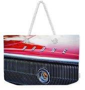 1966 Dodge Charger Grille Emblem Weekender Tote Bag