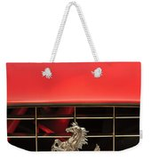 1966 Ferrari 330 Gtc Coupe Hood Ornament Weekender Tote Bag