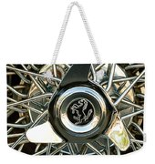 1966 Ferrari 330 Gtc Coupe Wheel Rim Emblem Weekender Tote Bag