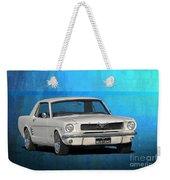 1966 Mustang Weekender Tote Bag