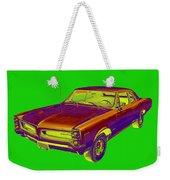 1966 Pointiac Lemans Car Pop Art Weekender Tote Bag
