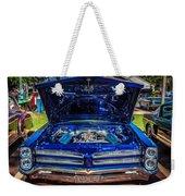1966 Pontiac Bonneville Weekender Tote Bag