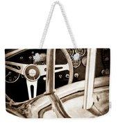 1966 Shelby 427 Cobra Steering Wheel Emblem Weekender Tote Bag