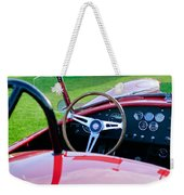 1966 Shelby Cobra 427 Weekender Tote Bag