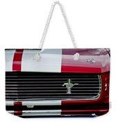 1966 Shelby Cobra Gt 350 Grille Emblem Weekender Tote Bag