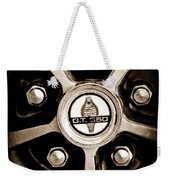 1966 Shelby Cobra Gt350 Wheel Rim Emblem Weekender Tote Bag