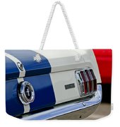 1966 Shelby Gt 350 Taillight Weekender Tote Bag