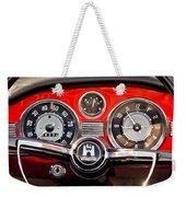 1966 Volkswagen Vw Karmann Ghia Steering Wheel Weekender Tote Bag
