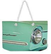 1967 Amphicar Model 770 Head Light Weekender Tote Bag