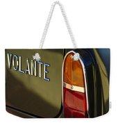 1967 Aston Martin Db6 Volante Tail Light Weekender Tote Bag